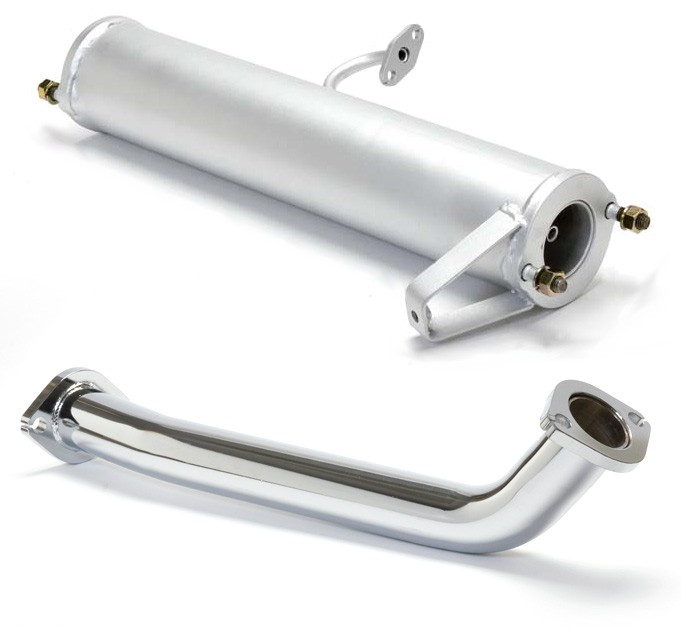 86-88 Rx7 N/A Racing Beat Down Pipe/Presilencer Kit (16206)