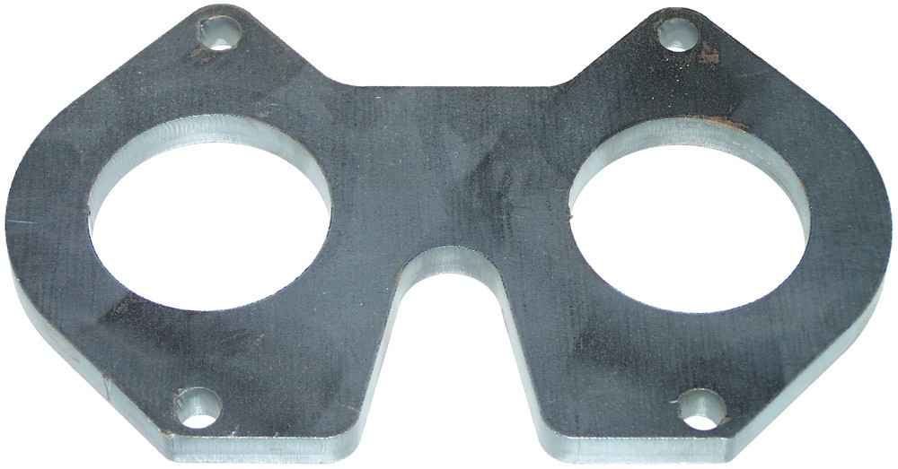 74-95 13B Mild Steel Exhaust Flange (ARM-53)
