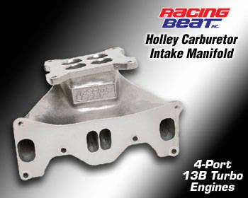 87-92 13B Turbo Holley Carburetor Intake Manifold (16475)