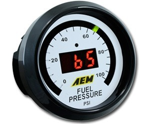 AEM 100psi Digital Fuel Pressure Gauge (30-4401)