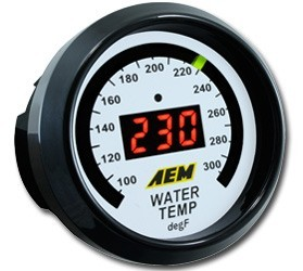 AEM Water Temperature Gauge (30-4402)