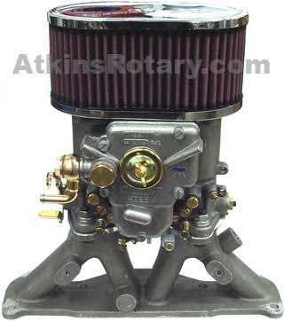 84-92 13B N/A Rx7 Side Draft - 48 DCOE Carb Kit (ARE702K48)
