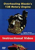 Mazda Rotary Instructional Rebuild DVD (ARE56)
