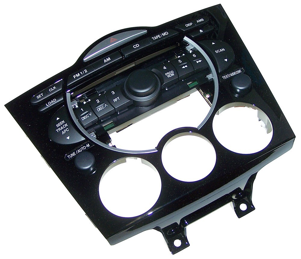 04-08 Rx8 Center Dash Panel Assembly (FE01-66-9H0)