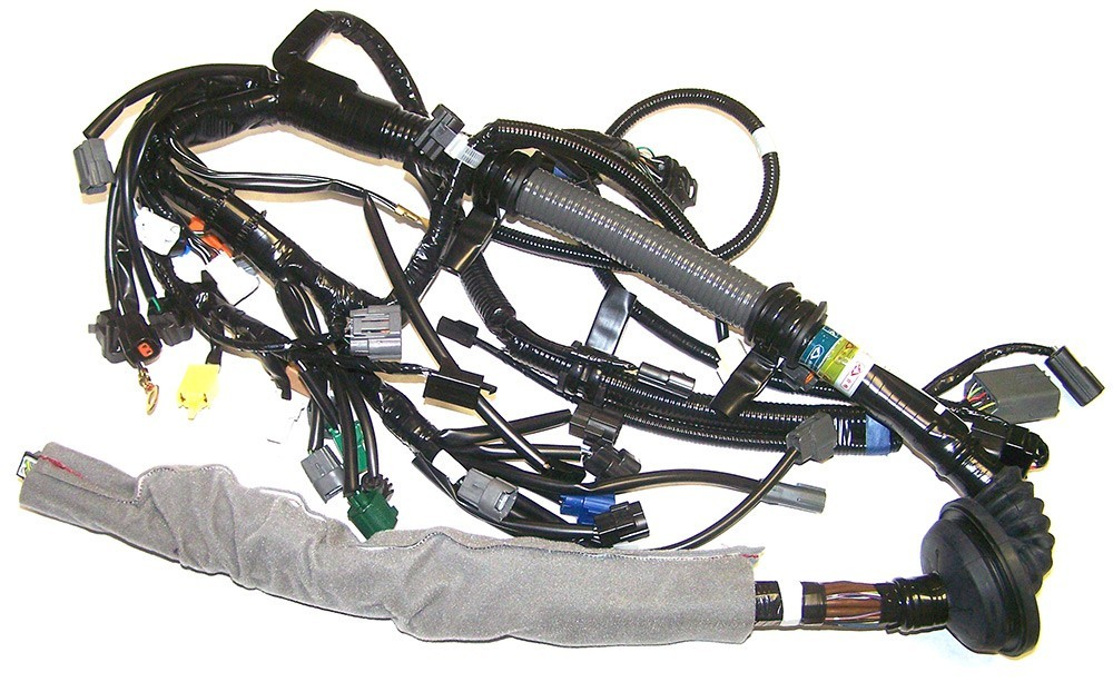 93 95 rx7 automatic engine wiring harness n3a2 18 05zj