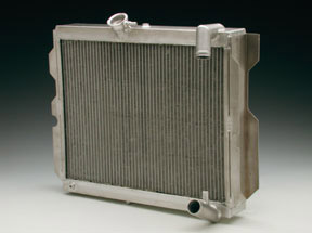 86-92 Rx7 Competition Aluminum Radiator (0000-01-7504) - NLA