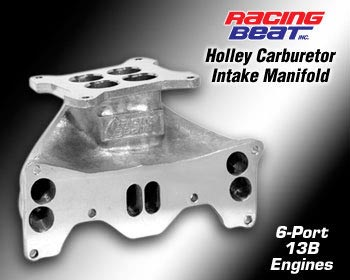 84-91 13B N/A Holley Carburetor Intake Manifold (16476)