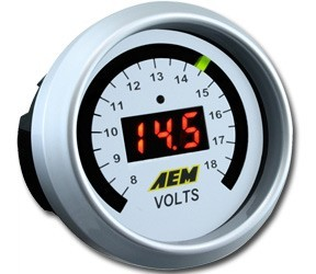 AEM Digital Volt Gauge (30-4400)