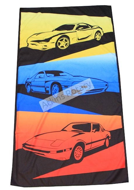 Rx7 Generations Beach Towel (ARE8701)