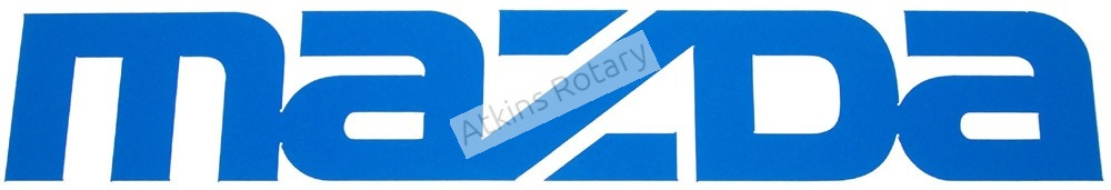 Mazda Decal Sticker (0000-10-0005)