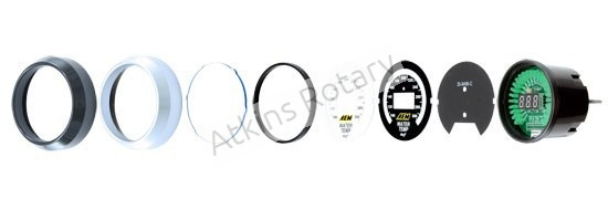 AEM Digital Wideband Air/Fuel Gauge (30-4110)