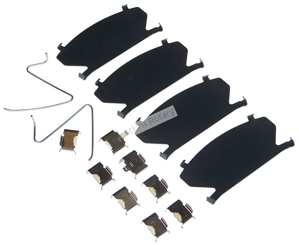 79-85 12A Rx7 Front Brake Pad Hardware Kit (8341-49-290A)