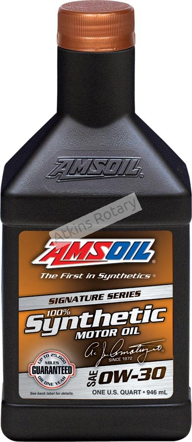 Amsoil 100% Synthetic - SAE 0W-30 (AZOQT)