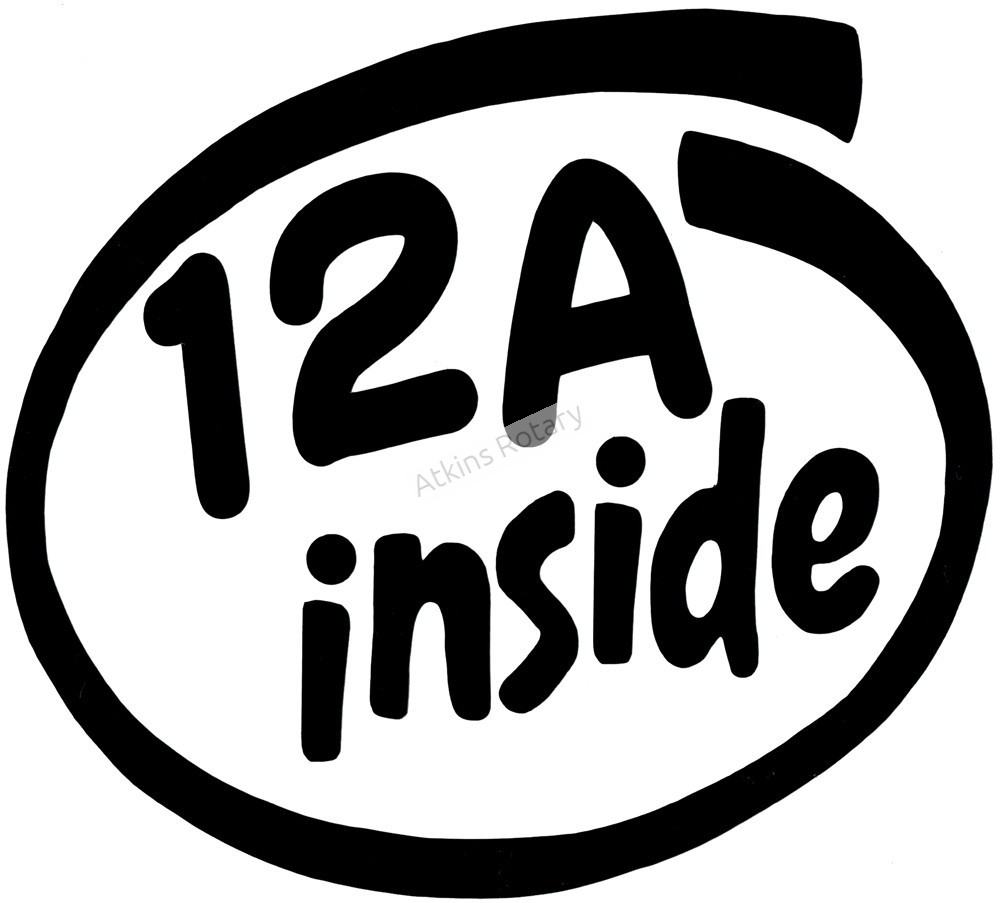 12A Inside Decal (ARE8106)