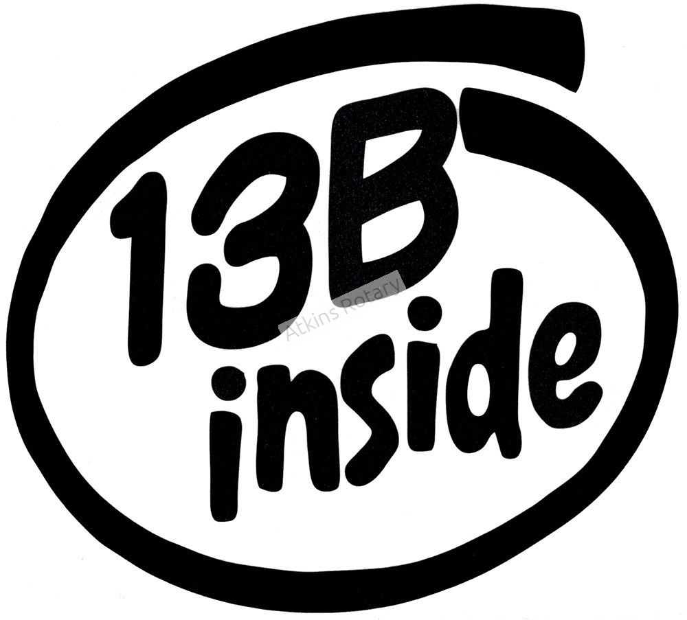 13B Inside Decal