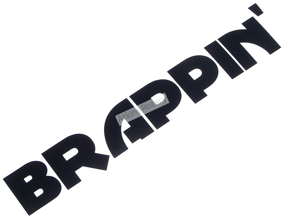 Brappin' Decal (ARE-Decal-Brappin)