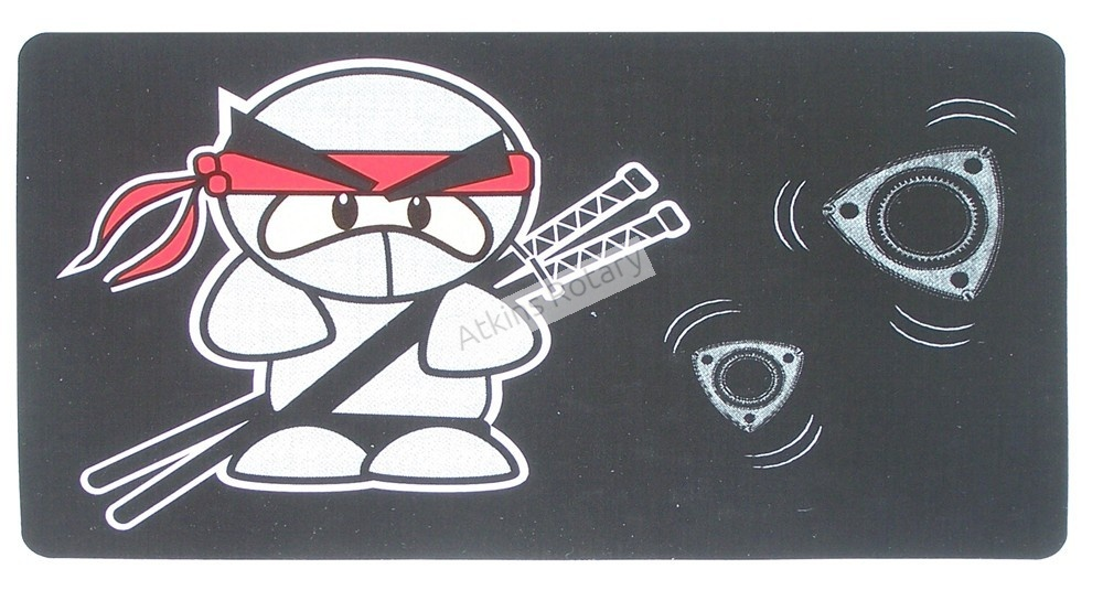 Rotary Ninja Sticker (ARE8116)