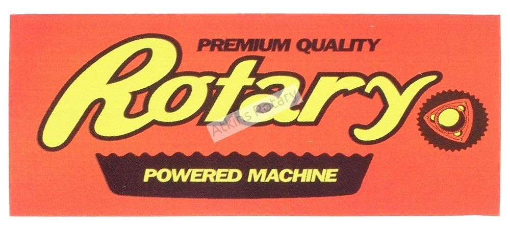 Reeses Rotary Power Sticker (ARE8119)