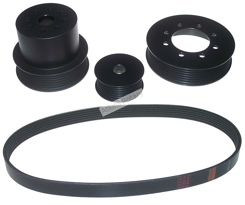 Atkins Designed Rx7 Serpentine Pulley Kit