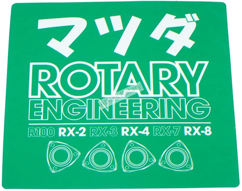 Rotary Engineering Sticker