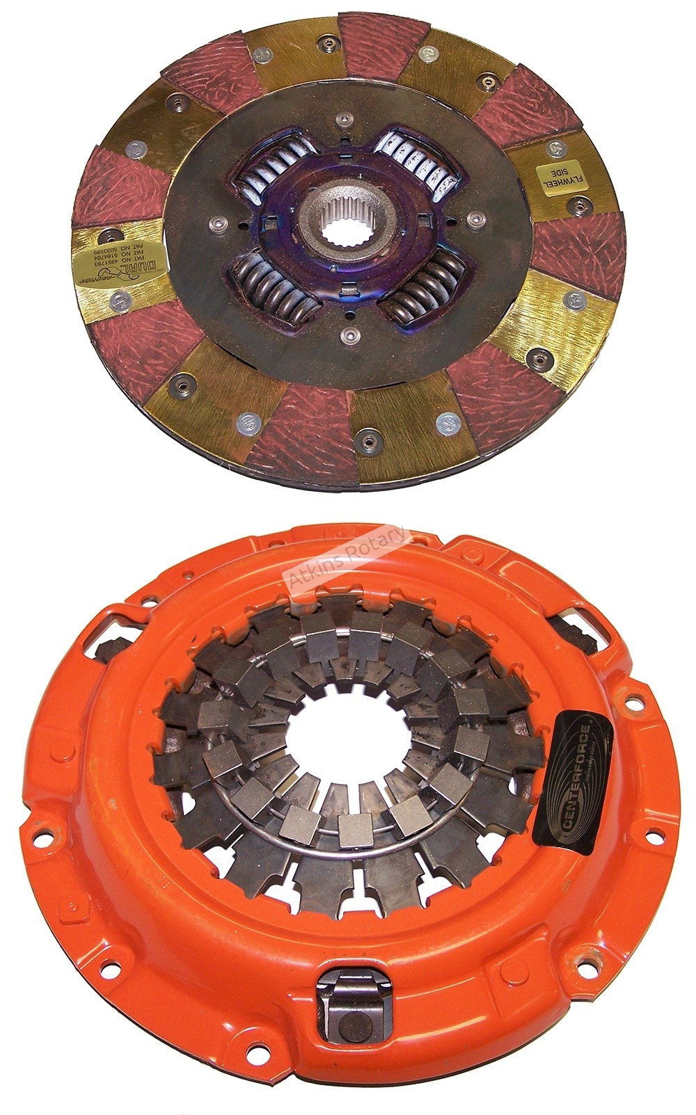 87-91 Turbo Rx7 Centerforce Dual Friction Clutch Kit (DF544020)