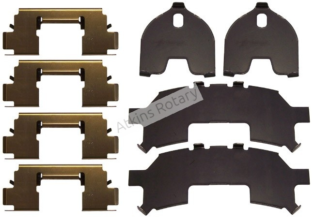 04-11 Rx8 Rear Brake Pad Hardware Kit (F1Y1-26-49Z)