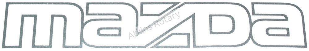 86-92 Rx7 Front Mazda Logo Decal (FB01-51-711)