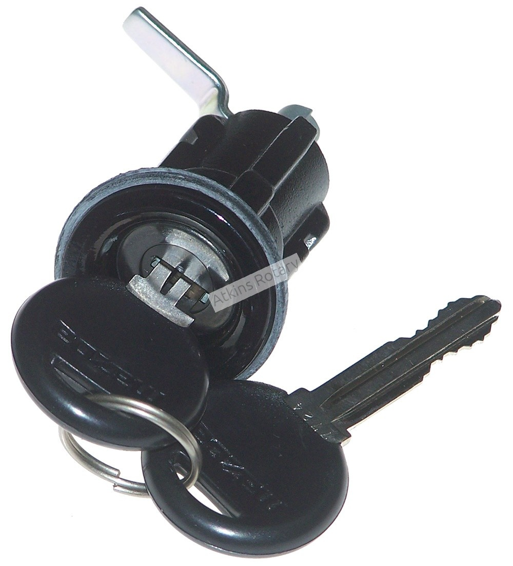 86-91 Rx7 Coupe Trunk Lock Set (FB01-76-260) - NLA