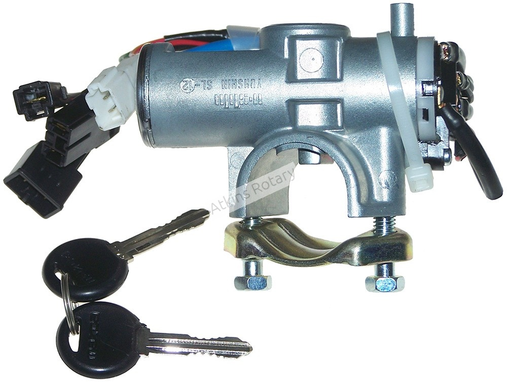 86-88 Rx7 Ignition Switch & Column Lock & Key Set (FB01-76-290)