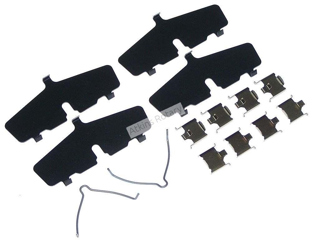 86-92 Rx7 Rear Vented Disc Brake Pad Hardware Kit (FB06-49-290B)