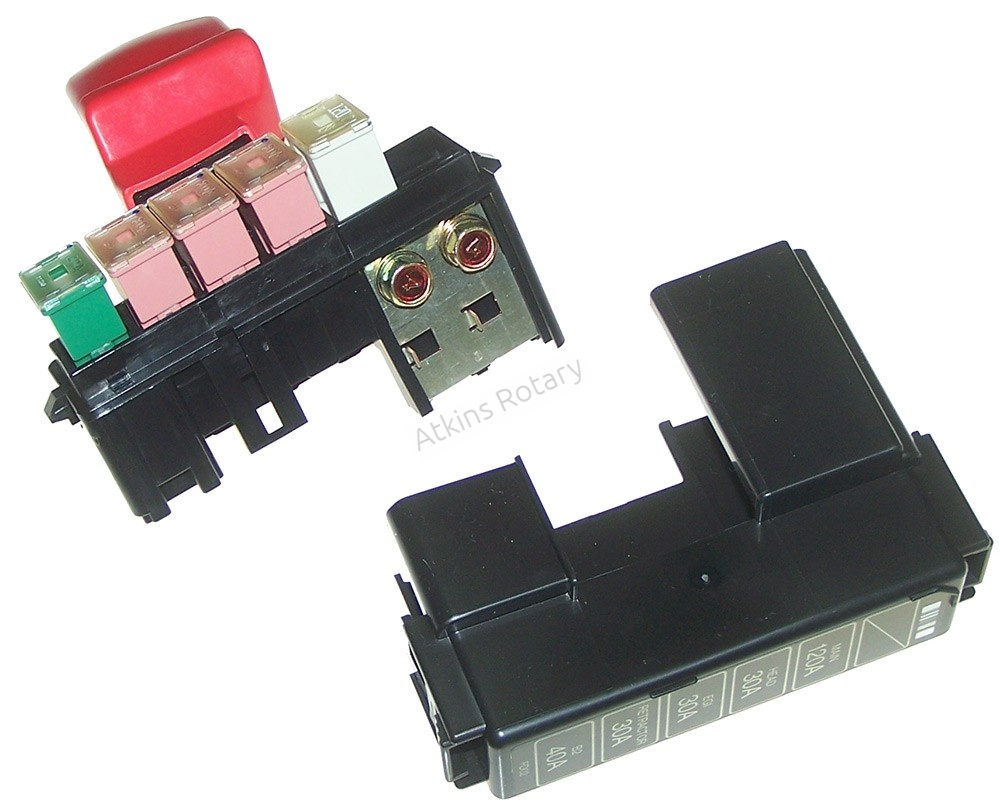 93-95 Rx7 Fuse Box, Lid & Positive Battery Terminal (FD02-66-760C)