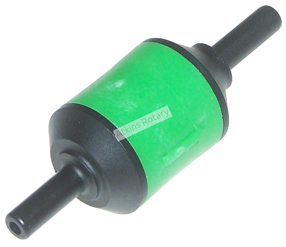 84-88 Rx7 Black/Green/Black Delay Check Valve (HE01-20-309)