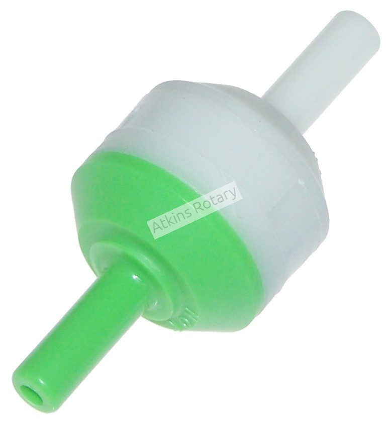 Green/White One Way Check Valve (HE41-13-995)