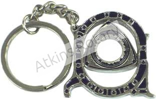 Nickel Rotor Housing Key Chain (ARE8204-N)