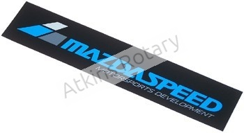 "Mazdaspeed 8"" Sticker (0000-10-MZ08)"