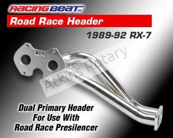 89-92 Rx7 Racing Beat Road Race Header (16129)
