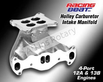 74-78 13B Rx7 Holley Carburetor Intake Manifold - Street Port (16478)