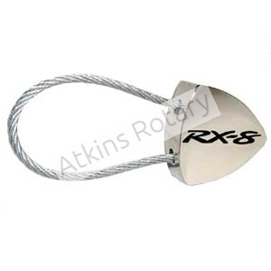 Steel Cable Rx8 Rotor Key Chain (ARE8207)
