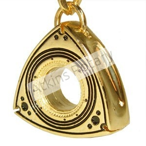 Gold Rotor Key Chain (ARE8203-G)