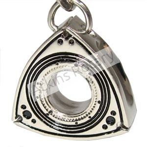Nickel Rotor Key Chain (ARE8203-N)