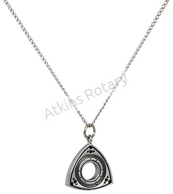 Silver Rotor Necklace (ARE8301-SL)