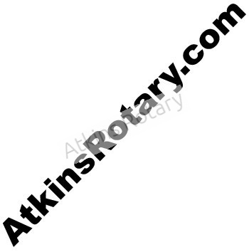 Atkins Rotary Sticker Decal (ARE8101)