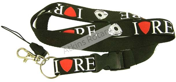 I Love RE Lanyard (ARE8461)