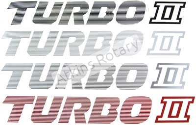 87-92 Rx7 Turbo II Decal (FB51-51-761)